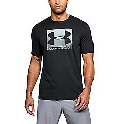 Under Armour - Black 'UA Boxed Sportstyle' short sleeve t-shirt