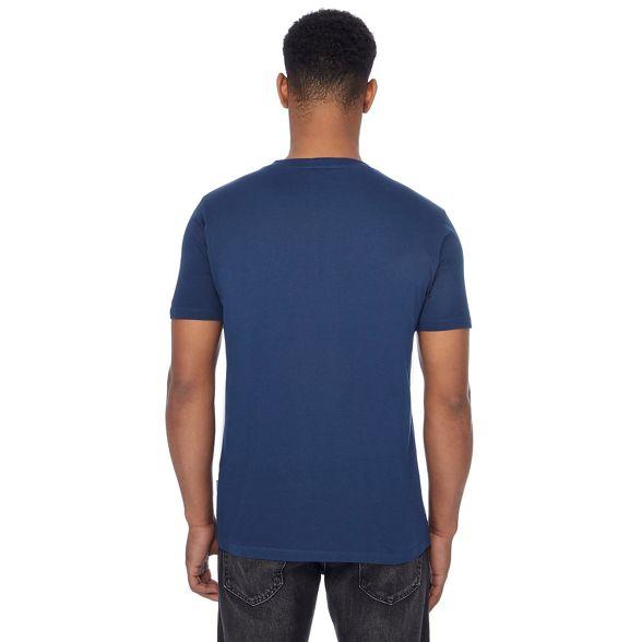 t Ben Sherman vespa print shirt Blue PI8PF