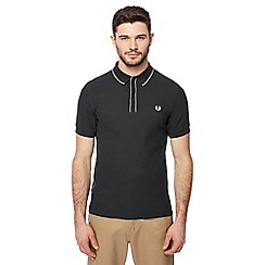 Fred Perry - Green tipped placket polo shirt
