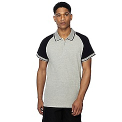 Jacamo - Grey polo shirt