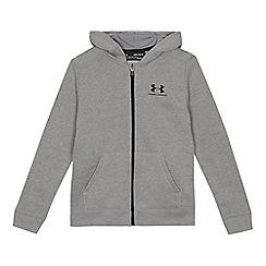 Under Armour - Grey long sleeve hoodie
