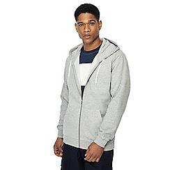 Jacamo - Grey zip through hoodie