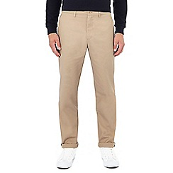 Fred Perry - Tan twill trousers