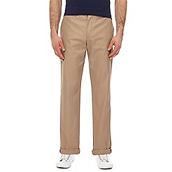 Fred Perry - Natural twill trousers