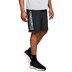 Under Armour - Woven graphic wordmark shorts