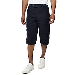 Jacamo - Navy 'Atlas' cargo shorts