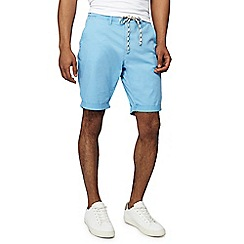 Jacamo - Light blue slim fit chino shorts