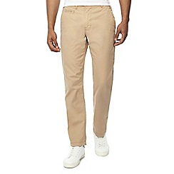 Jacamo - Natural regular fit short length chino trousers