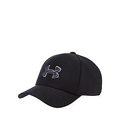 Under Armour - 'Boys' black embroidered logo baseball hat