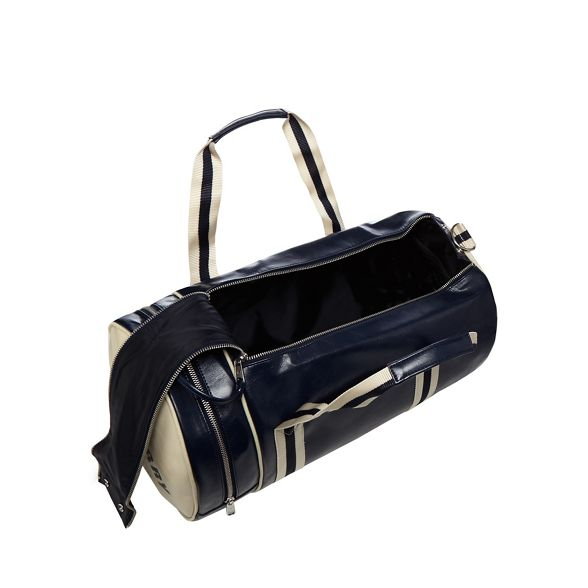 'Classic' barrel Fred bag Perry Navy ACqw44aR