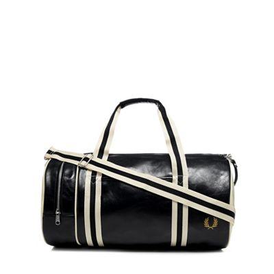 Fred Perry - Black  Classic  barrel bag 650c643139f92