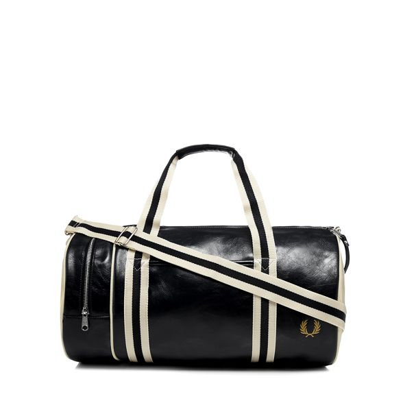 Fred barrel bag Perry Black 'Classic' tq4tSPr