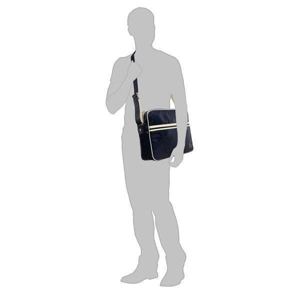 Navy shoulder 'Classic' bag Perry Fred YawxRqA5n