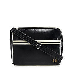 Fred Perry - Black 'Classic' shoulder bag