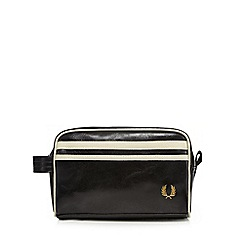 Fred Perry - Black 'Classic' wash bag
