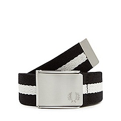 Fred Perry - Black tipped belt