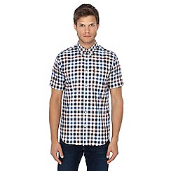 Ben Sherman - Red checked short sleeve shirt