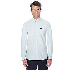 Fred Perry - Pale blue button down collar Oxford shirt