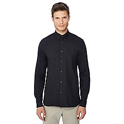 Fred Perry - Black button down collar Oxford shirt