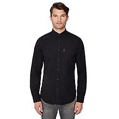 Ben Sherman - Black long sleeve Oxford regular fit shirt