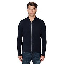 Ben Sherman - Navy wool blend sweater