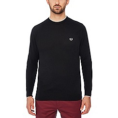 Fred Perry - Black tipped wool jumper