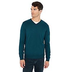 Jacamo - Dark blue V-neck jumper