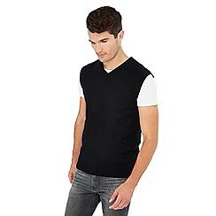 Jacamo - Black knitted tank top