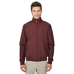 Fred Perry - Maroon 'Brentham' jacket