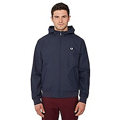 Fred Perry - Navy hooded 'Brentham' jacket
