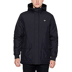 Fred Perry - Black 'Stockport' Padded Jacket
