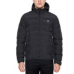 Fred Perry - Big and tall black padded jacket