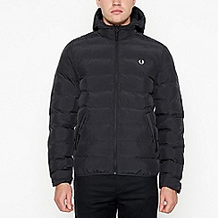 Fred Perry - Black padded jacket