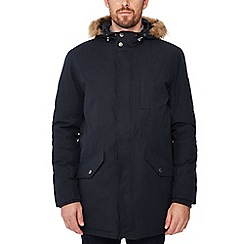 Ben Sherman - Navy hooded parka
