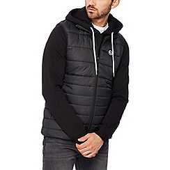 Hype - Black quilted gilet