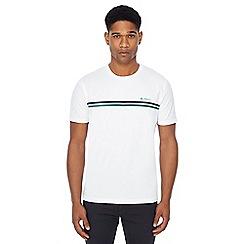 Ben Sherman - White chest stripe t-shirt