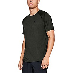 Under Armour - Dark green 'UA Tech™ 2.0' short sleeve t-shirt