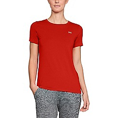 Under Armour - Red 'UA HeatGear® Armour' short sleeve t-shirt