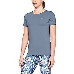 Under Armour - Blue 'UA HeatGear® Armour' short sleeve t-shirt