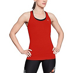 Under Armour - Red 'UA HeatGear® Armour' racer tank top