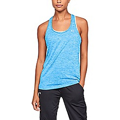 Under Armour - Blue 'UA Tech  Twist' tank top