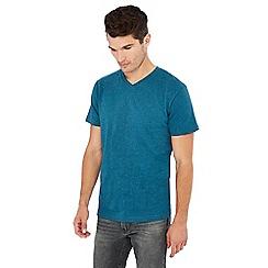 Jacamo - Dark blue V-neck t-shirt