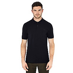 Fred Perry - Navy embroidered logo polo shirt