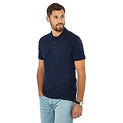 Jacamo - Navy tipped polo shirt