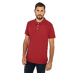 Jacamo - Red cotton polo shirt