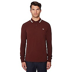 Fred Perry - Maroon tipped polo shirt