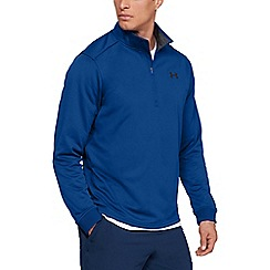 Under Armour - Blue 'UA Armour Fleece' 1/2 zip sweatshirt