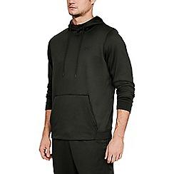 Under Armour - Dark green' UA Armour Fleece' hoodie