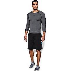 Under Armour - Dark grey 'UA HeatGear® Armour' t-shirt