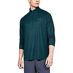 Under Armour - Turquoise 'UA Tech™' 1/2 zip sweatshirt